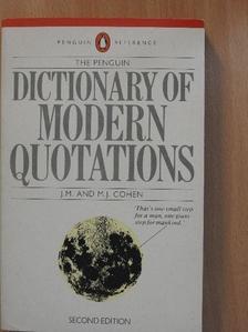 Edward Albee - The Penguin Dictionary of Modern Quotations [antikvár]