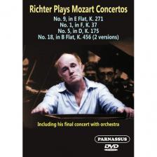 MOZART - RICHTER PLAYS MOZART CONCERTOS DVD