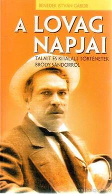 Benedek István Gábor - A lovag napjai [antikvár]