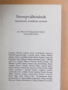 Gergely Mihály - Szerepváltozások [antikvár]