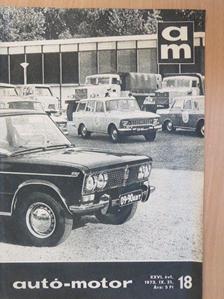 Dékán György - Autó-Motor 1973. szeptember 21. [antikvár]