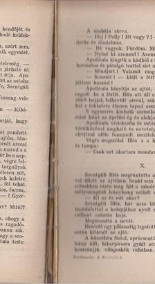 FERDINANDY MIHÁLY - A szentgáliak I-II. kötet egyben [antikvár]