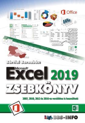 BÁRTFAI BARNABÁS - Excel 2019 zsebkönyv