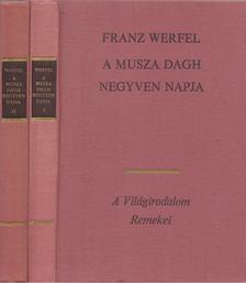 Franz Werfel - A Musza Dagh negyven napja I-II. [antikvár]