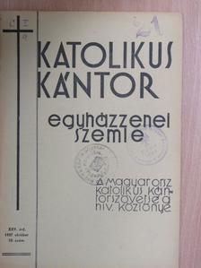 Volly István - Katolikus Kántor 1937. október [antikvár]