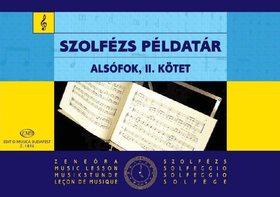 SZOLFÉZS PÉLDATÁR ALSÓFOK II. (IRSAI-AGÓCSY-SZŐNYI)