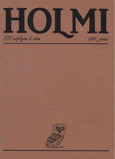 Réz Pál - HOLMI 2001. június [antikvár]