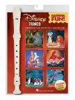 DISNEY TUNES. SONGBOOK WITH EASY INSTRUCTIONS & FINGERING CHART + RECORDER