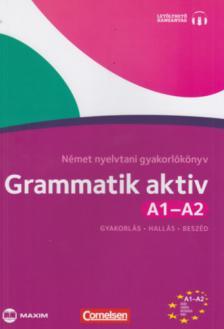 Friederike Jin, Ute Voss - Grammatik aktiv A1-A2 Német nyelvtani gyakorlókönyv (CD-melléklettel)