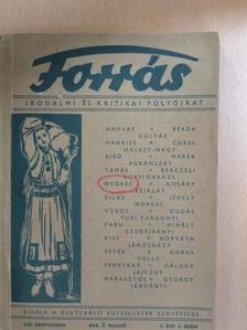 Berczeli A. Károly - Forrás 1943. szeptember [antikvár]