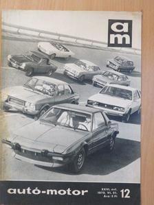 Kollányi Gyula - Autó-Motor 1973. június 21. [antikvár]