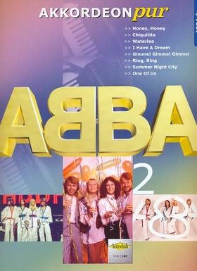 ABBA - AKKORDEON PUR: ABBA 2 FÜR AKKORDEON, BEARBEITER: HANS-GÜNTHER KÖLZ