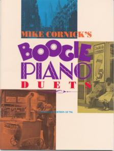CORNICK, MIKE - BOOGIE PIANO DUETS