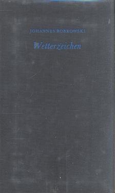 Bobrowski, Johannes - Wetterzeichen [antikvár]