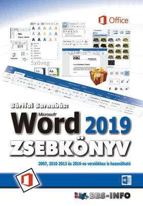 BÁRTFAI BARNABÁS - Word 2019 zsebkönyv