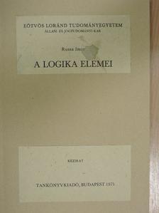 Ruzsa Imre - A logika elemei [antikvár]