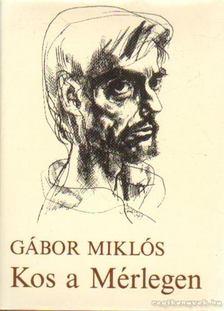 Gábor Miklós - Kos a Mérlegen [antikvár]