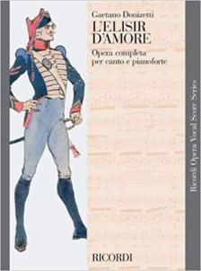 DONIZETTI,G - L'ELISIR D'AMORE PER CANTO E PIANOFORTE