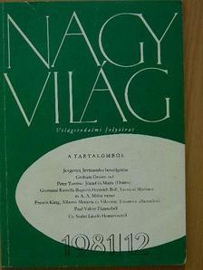 Cs. Szabó László - Nagyvilág 1981. december [antikvár]