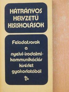 Horváth Éva - Hátrányos helyzetű kisiskolások [antikvár]