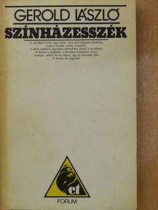 Gerold László - Színházesszék [antikvár]