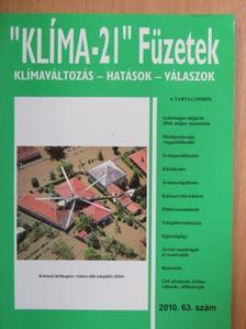 """Bozó László - """"Klíma-21"""" Füzetek 2010/63. [antikvár]"""