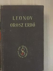 Leonyid Leonov - Orosz erdő [antikvár]