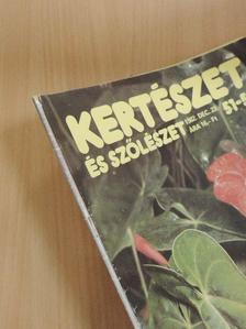 Altdorfer Károly - Kertészet és Szőlészet 1982. december 23. [antikvár]