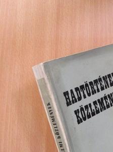 Borus József - Hadtörténelmi Közlemények 1954/1 [antikvár]