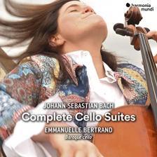 Bach - COMPLETE CELLO SUITES 2CD EMMANUELLE BERTRAND