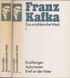 Franz Kafka - Das erzählerische Werk I-II. [antikvár]