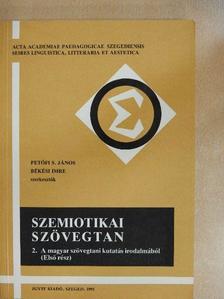 Kabán Annamária - Szemiotikai szövegtan II. [antikvár]