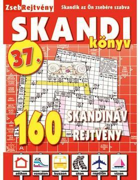 CSOSCH KIADÓ - ZsebRejtvény SKANDI Könyv 37.