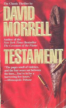 David Morrell - Testament [antikvár]