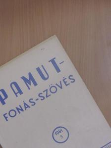 Bojtár Pál - Pamut-Fonás-Szövés 1961/8. [antikvár]