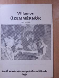 Boczor Miklós - Villamos Üzemmérnök 1974. december [antikvár]