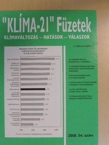 """Andrási Zoltán - """"Klíma-21"""" Füzetek 2008/54. [antikvár]"""