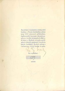 Charles Baudelaire - Versek (számozott, aláírt) [antikvár]