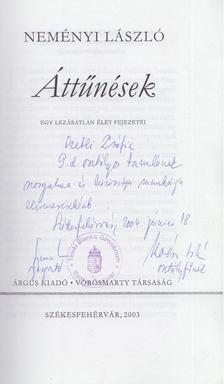 Neményi László - Áttűnések (dedikált) [antikvár]