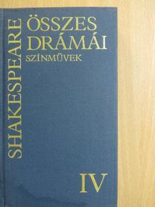 Géher István - Shakespeare összes drámái IV. [antikvár]
