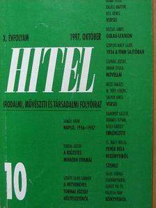 A. Molnár Ferenc - Hitel 1997. október [antikvár]