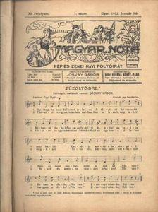 Jósvay Gábor - Magyar Nóta 1932. (teljes évf.) [antikvár]