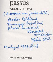 Pataki István - passus (Dedikált) [antikvár]