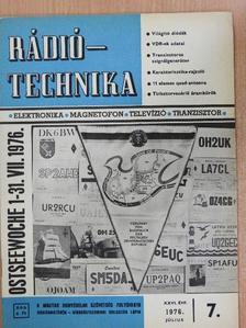 Bassó Andor - Rádiótechnika 1976. július [antikvár]