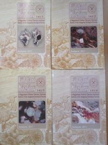 Badics Balázs - Földtani Közlöny 2011/1-4. [antikvár]