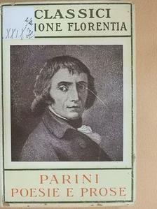 Giuseppe Parini - Poesie e Prose [antikvár]