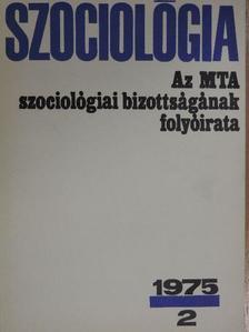 Gyenes Antal - Szociológia 1975/2. [antikvár]