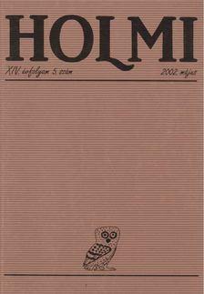 Réz Pál - HOLMI 2002. május [antikvár]