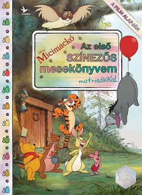 Disney-Micimackó - Az első színezős mesekönyvem matricákkal