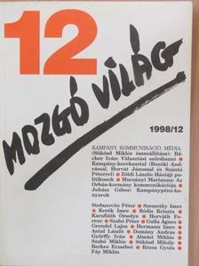 Almási Miklós - Mozgó Világ 1998. december [antikvár]